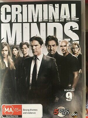 CRIMINAL MINDS - Season 9 6 x DVD Set Exc Cond! Complete Ninth Series Nine