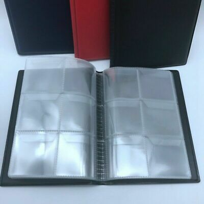 60 x Collectors Coin Penny Money Storage Album Book Holder Collection Beauty