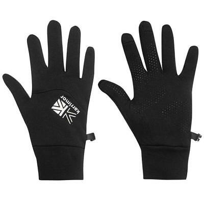 Karrimor Thermal Running Gloves Touch Screen Compatible Smartphone Black L/Xl