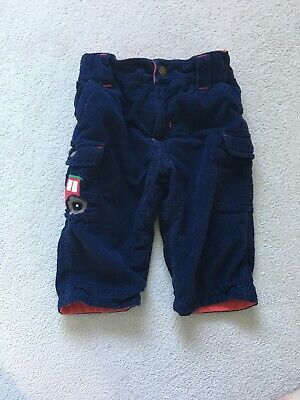 Frugi Tractor Trousers 6-12 Months Worn Once
