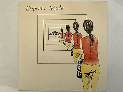 "Depeche Mode Dreaming Of Me UK 7"" With Ferret Plugging Sticker"