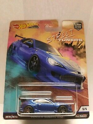Hot Wheels 2019 Car Culture Street Tuners Pandem Subaru BRZ-Protector Included