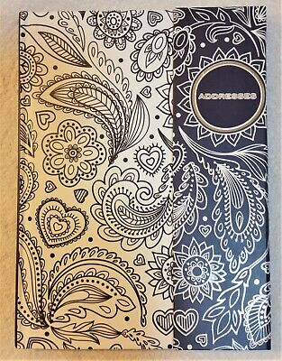 Ozcorp Flip close Address Book A5 lined 55 pages Free Post