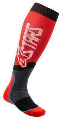 2020 Alpinestars Mx Plus 2 Boot Socks Red White Motocross Mx Enduro Cheap New