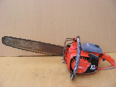 Homelite  Petrol Chainsaw With Bar And Chain Homelite Xl  Petrol Chain Saw #952