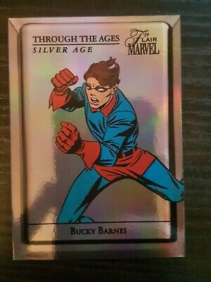 2019 Flair Marvel Through the Ages Silver Age #TTAC3 Bucky Barnes