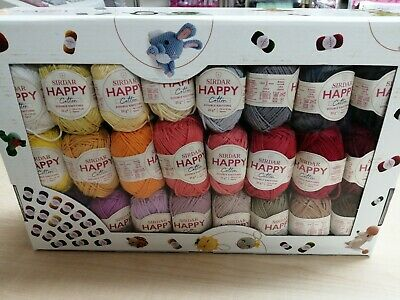 Happy Cotton Gift Pack 50 Different Colours