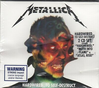 Metallica - Hardwired To Self-Destruct 2CD 2016 NEW SEALED