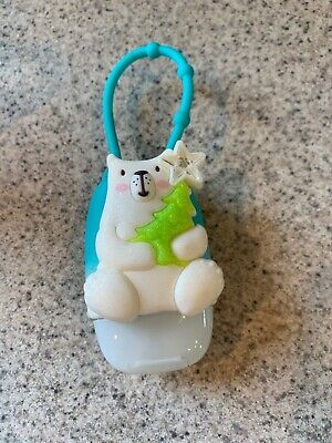 Bath & Body Works Hand Sanitizer Holder Polar Bear