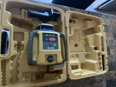 Topcon RL-H4C Long-Range Self-Leveling Construction Laser with Dry-Cell...