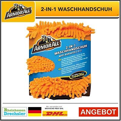 ARMOR ALL 2in1 Mikrofaser Waschhandschuh
