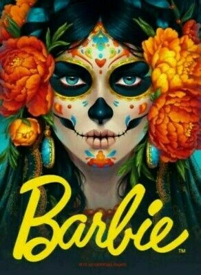 BARBIE DAY OF THE DEAD Dia De Los Muertos Doll Limited Edition