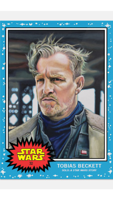 Topps Star Wars Living Set Card Tobias Beckett #32 Solo: A Star Wars Story