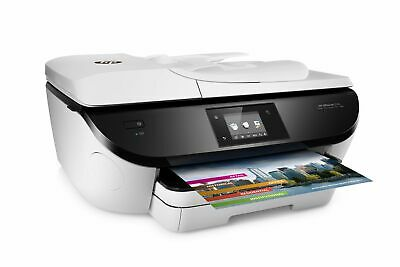 HP OfficeJet 5746 Wireless All-in-One Photo Printer w/ Mobile Printing in White
