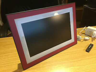 "Kodak EasyShare M1020 Digitaler Bilderrahmen 10"" Display 128MB interner speicher"