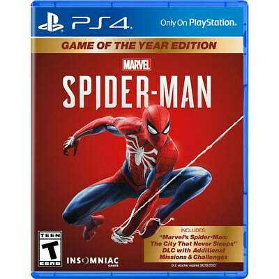 Marvel's Spider-Man Game of the Year Edition - PlayStation 4
