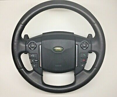 Land Rover Discovery 4 3 L319 Leather Steering Wheel Paddle Shift Airbag