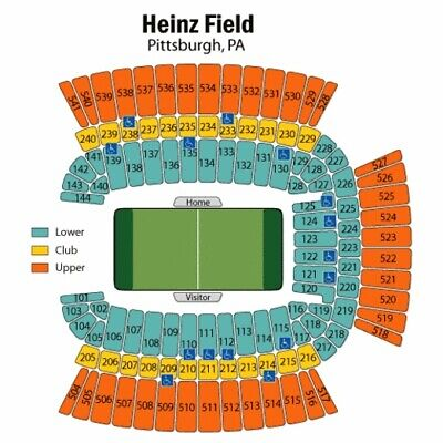 2 Tickets Steelers v Bengals 9/30/19 Heinz Field. Section 118.  Lower Level!