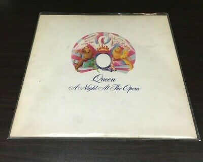 Queen - A Night At The Opera vinyl LP 1975 Blairs EMI EMTC 103 Embossed