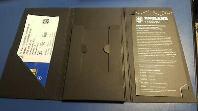 England V Kosovo FA magnetic close wallet, ticket & itinerary card
