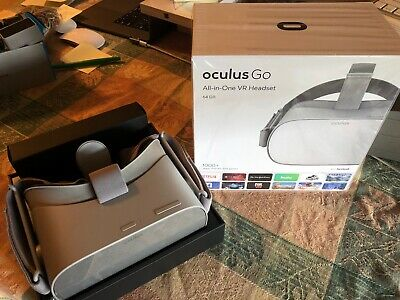 Oculus Go 64GB. Factory condition still wrapped in factory plastic.