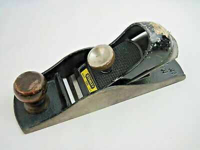 Vintage Stanley 220 Wood Block Plane C-255 Made in U.S.A.