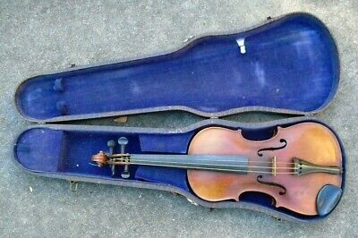 fine old German Stainer  full size violin in case