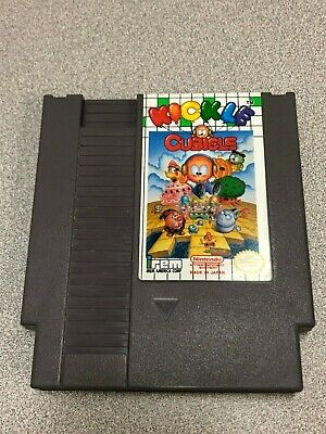 Kickle Cubicle -- NES Nintendo Entertainment System -- Cleaned Tested Authentic!