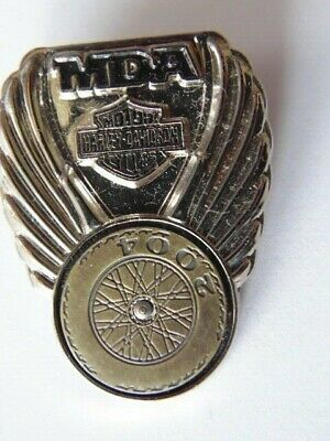 Harley-Davidson Pins A Systeme Badge Collector Hd Mda 2004