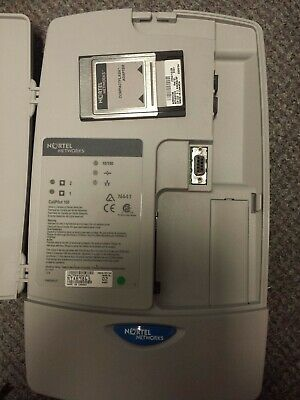 Nortel CallPilot 100 With Compact Flash Adaptor and Power Supply