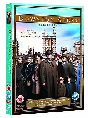 NEW and SEALED Downton Abbey - Series 5 [DVD] [3-Disc Set]