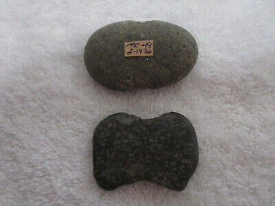 Two Very Nice Old California Stone Tools With Docs--Nr!
