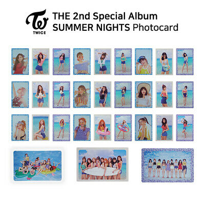 TWICE - 2nd Special Album : SUMMER NIGHTS Official Photocard (Pre-Order)