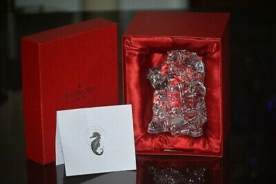 Waterford Crystal Santa Claus Figurine With Naughty List Annual 2005 IOB