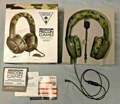 Turtle Beach - EAR FORCE Recon Camo Wired Gaming Headset for PS4, Xbox, Mobile