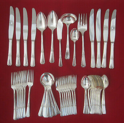 51 Pieces Wm A Rogers Sectional Oneida RIO 1939 Vintage Service for 8