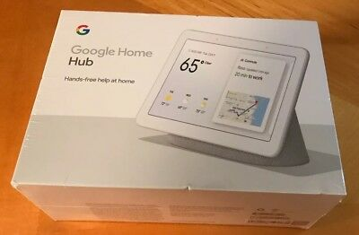 Google Home Hub  • New in sealed package • Hands-Free help at home