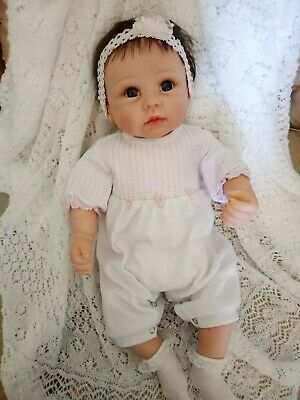 Gorgeous reborn baby or as is?Olivia by Linda Murray...Ashton Drake- holds hand