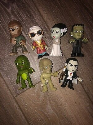 Funko MYSTERY Minis Universal Monsters Horror Lot Of 7 Exclusive HTF Figure 2