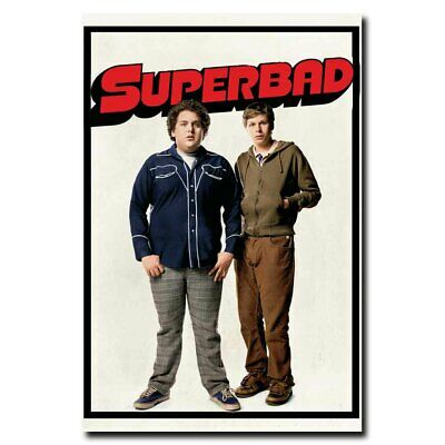 LICENSED NEW B Michael Cera Superbad Movie POSTER 27 x 40 Jonah Hill