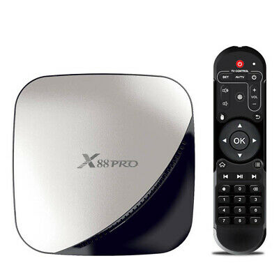 X88 PRO Smart Android9.0 TV Box RK3318 Quad Core 4K 4+32GB 5G WiFi Player I8T9
