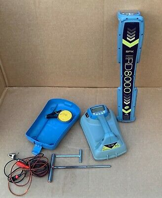 SPX RADIODETECTION RD8000 PXL CABLE PIPE LOCATOR RECEIVER & Tx-10 TRANSMITTER