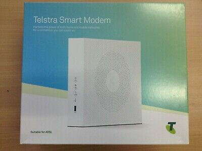 #890 New Telstra Smart Modem Dja0230 For Adsl / 2+ / Vdsl2 / Fibre