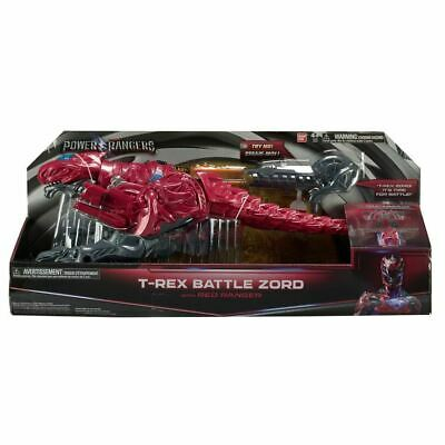 Power Rangers Movie 2017 - T- Rex Battle Zord with Red ranger New And Sealed