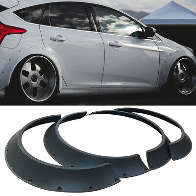 JDM Universal fender flares 2pcs 80mm Over Fender Flares Wheel Arch Extensions
