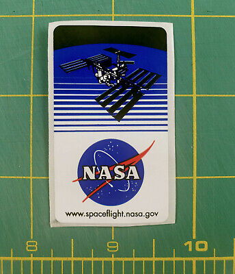 NASA Official DECAL STICKER Satellite Spaceflight Meatball Logo