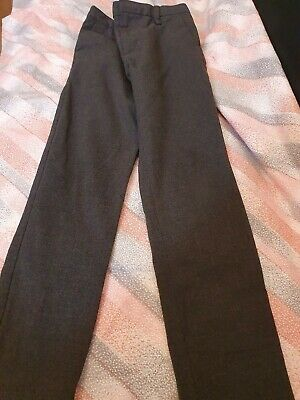 Lovely Boys Next Grey School Trousers Age 7 Years