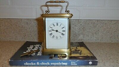 Antique Brass Cased Carriage Clock