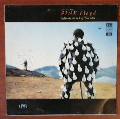 Pink Floyd ‎– Delicate Sound Of Thunder № 1 / USSR / LP