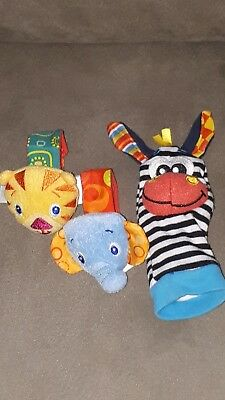 Baby rattle stuffed toys